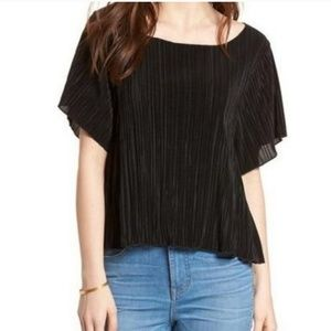 Madewell Texture & Thread Micropleat Top